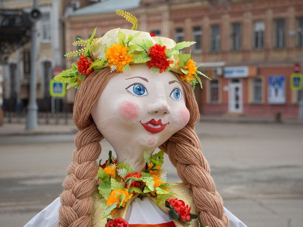 Стартовал конкурс масленичных кукол «Сударыня Масленица – 2017»