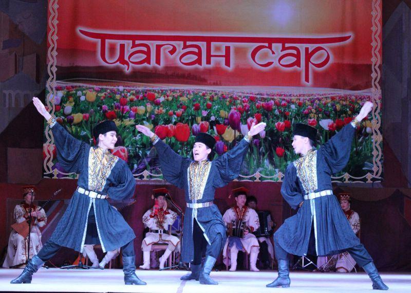 Астраханцев ждут на Цаган саре
