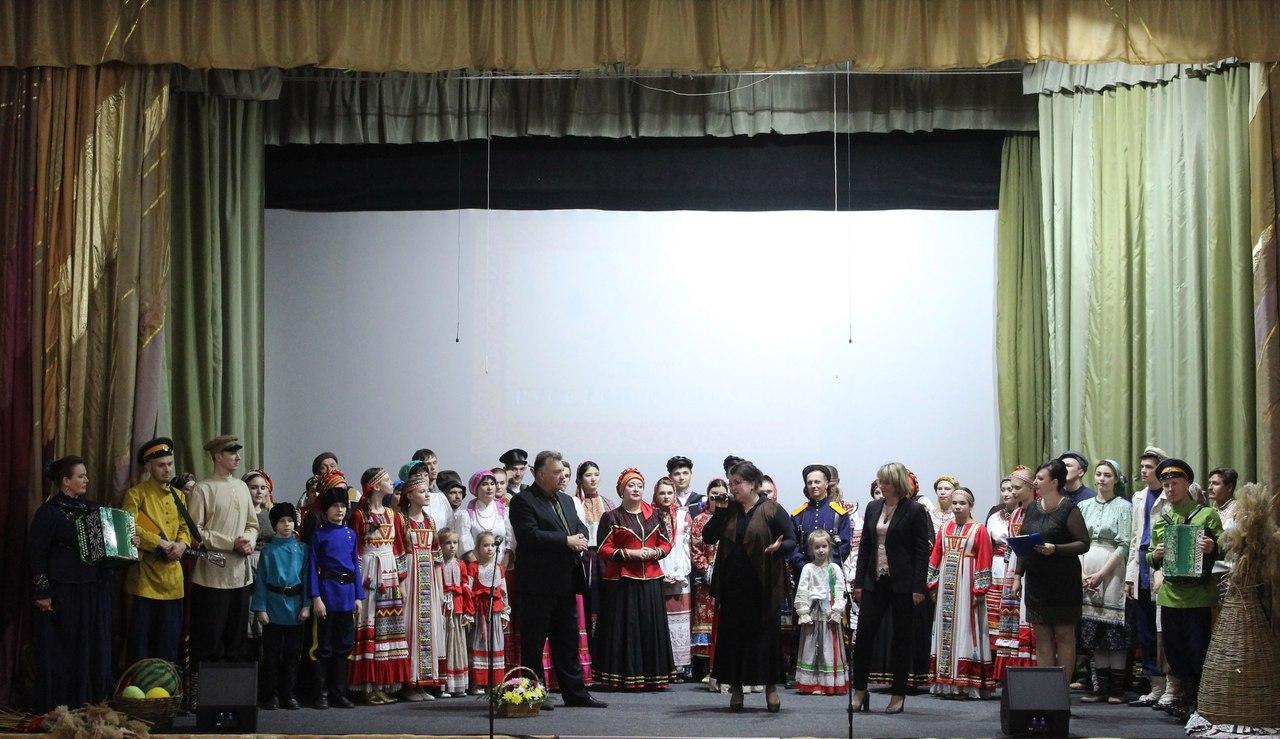 Астраханский областной центр народной культуры представил в Красноярском районе концерт-презентацию Центра русской культуры
