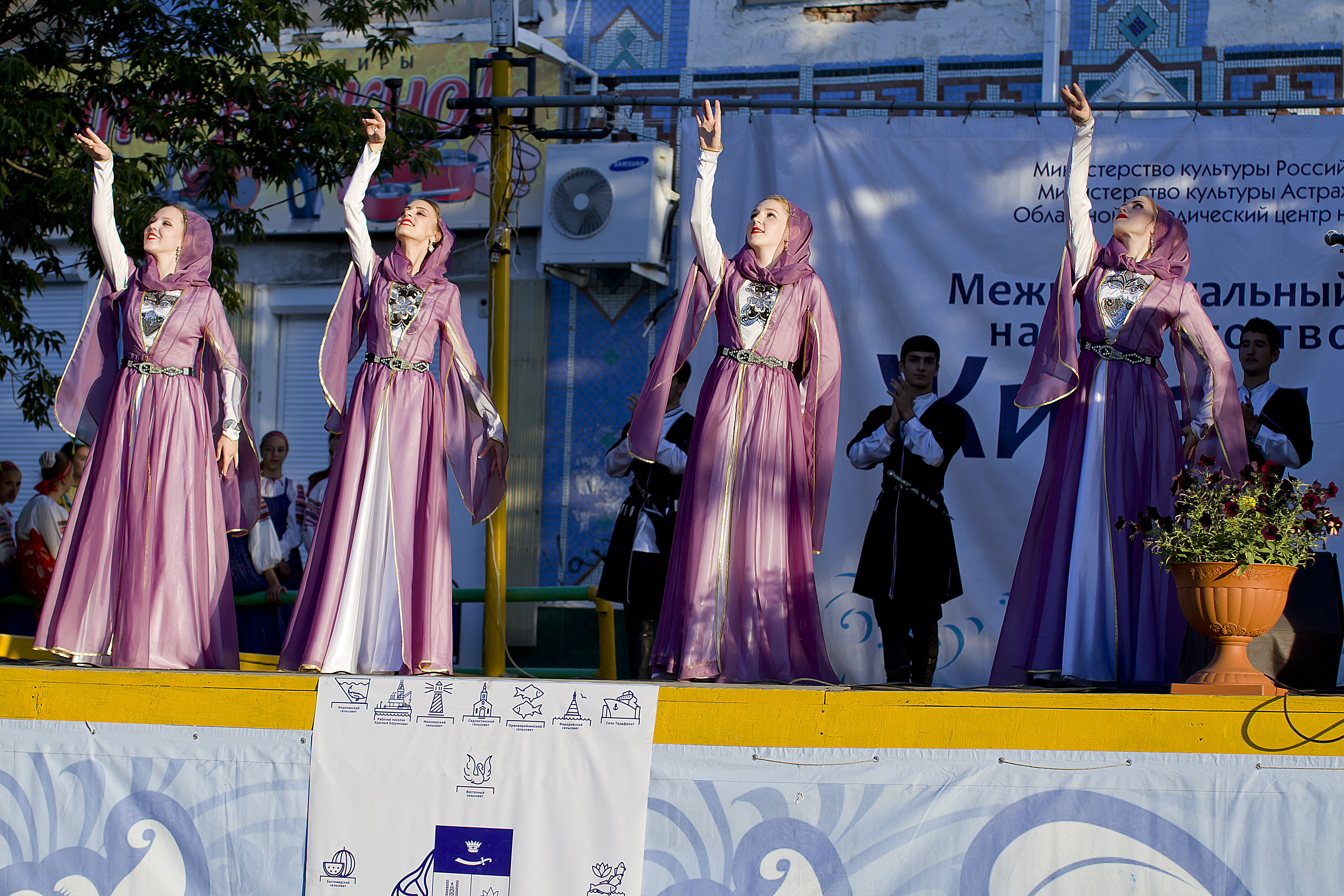 Фестиваль «Живая вода» стартовал в Икрянинском районе