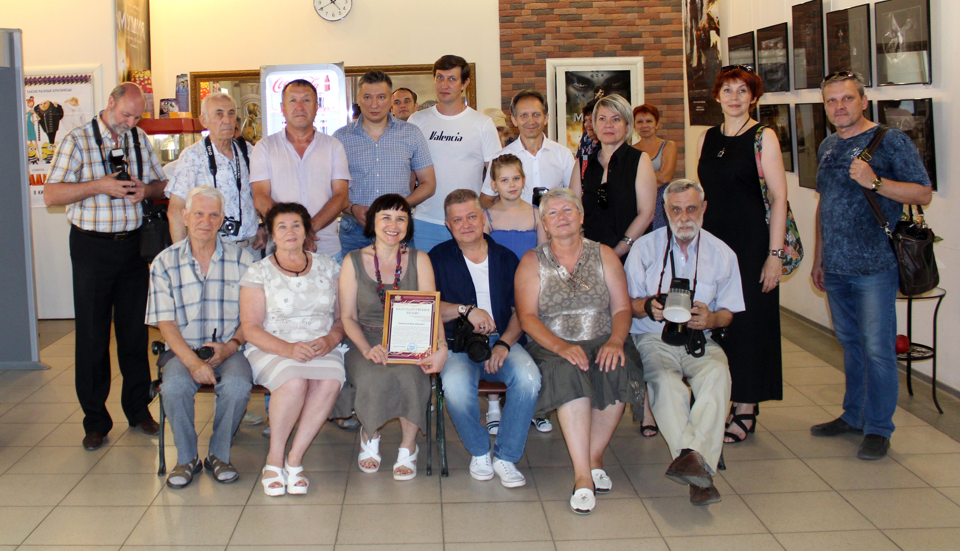 В Астрахани открылась персональная фотовыставка Ивана Семирикова