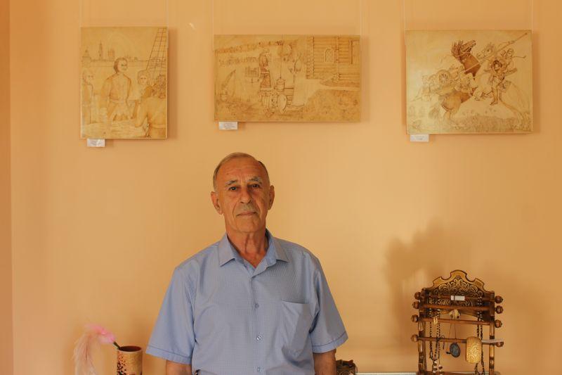 Работы Владимира Кузьмина представлены на выставке  «Разности для радости»