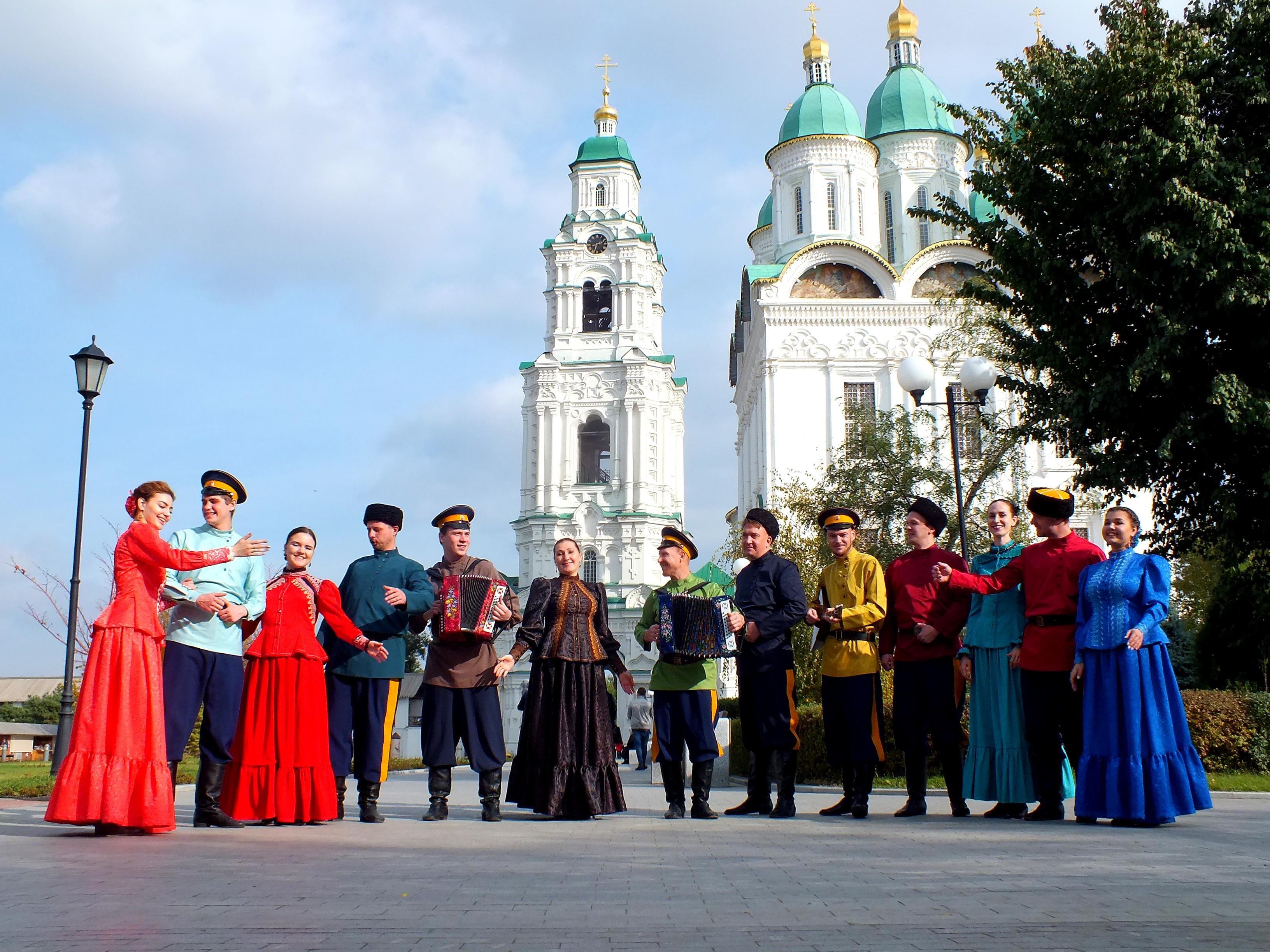Ансамбль традиционной песни астраханских казаков празднует 5-летие