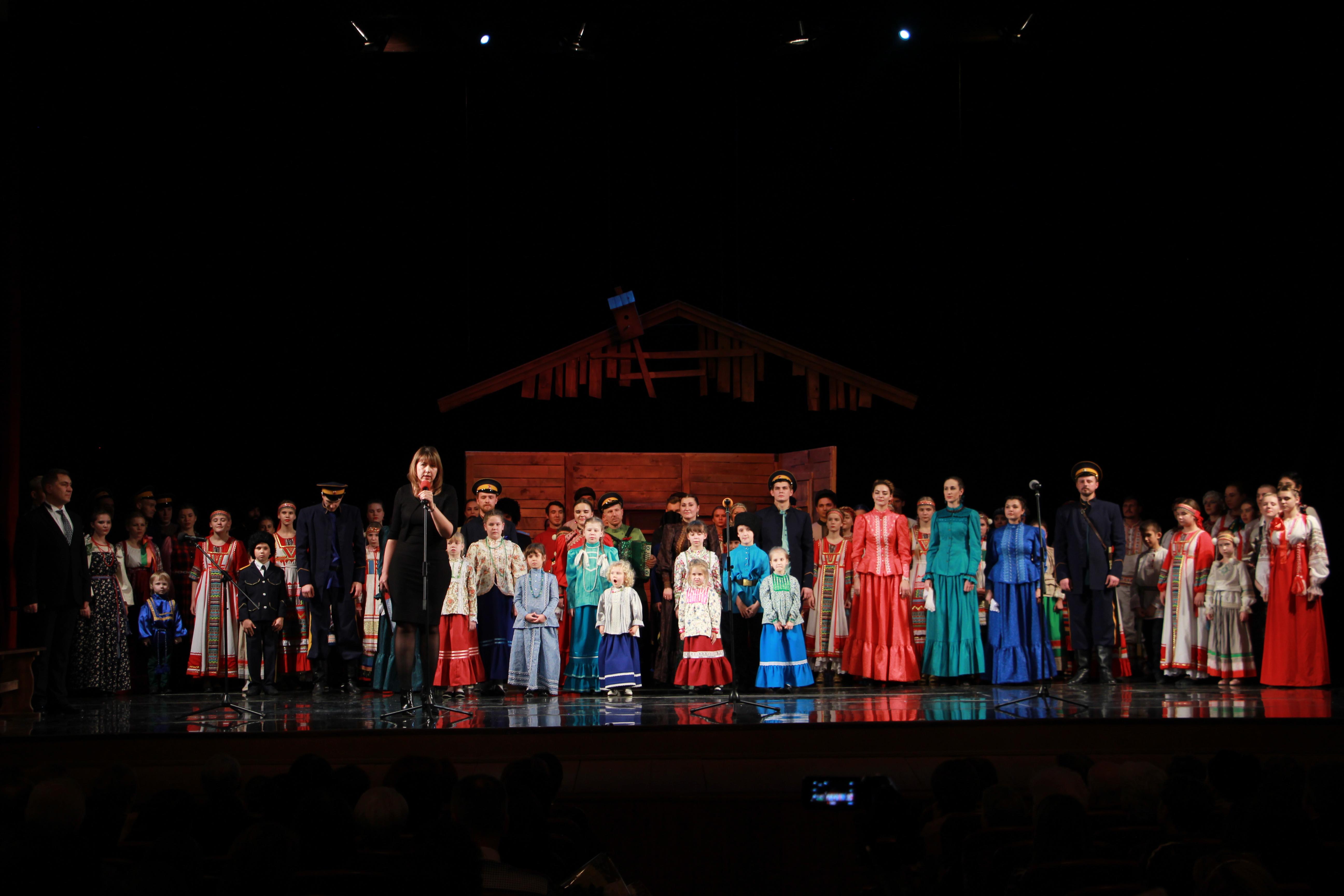 Ансамбль традиционной песни астраханских казаков отметил юбилей