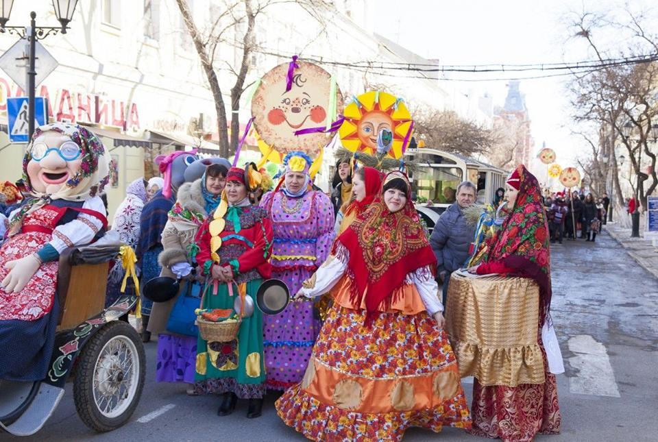 Приглашаем астраханцев стать участниками масленичного театрализованного парада «НаШествие гостей со всех волостей»