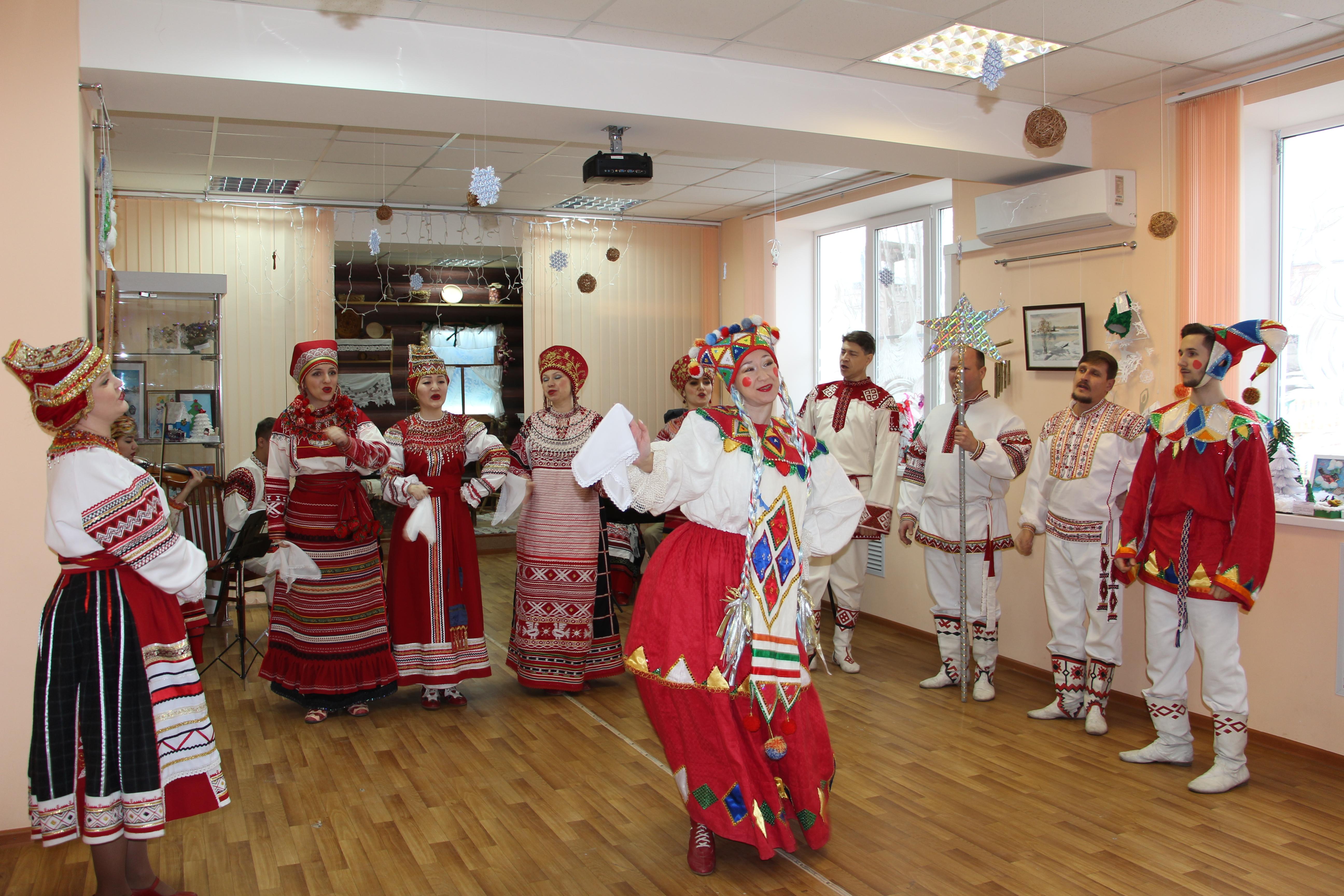 Рождественские посиделки в Астрахани