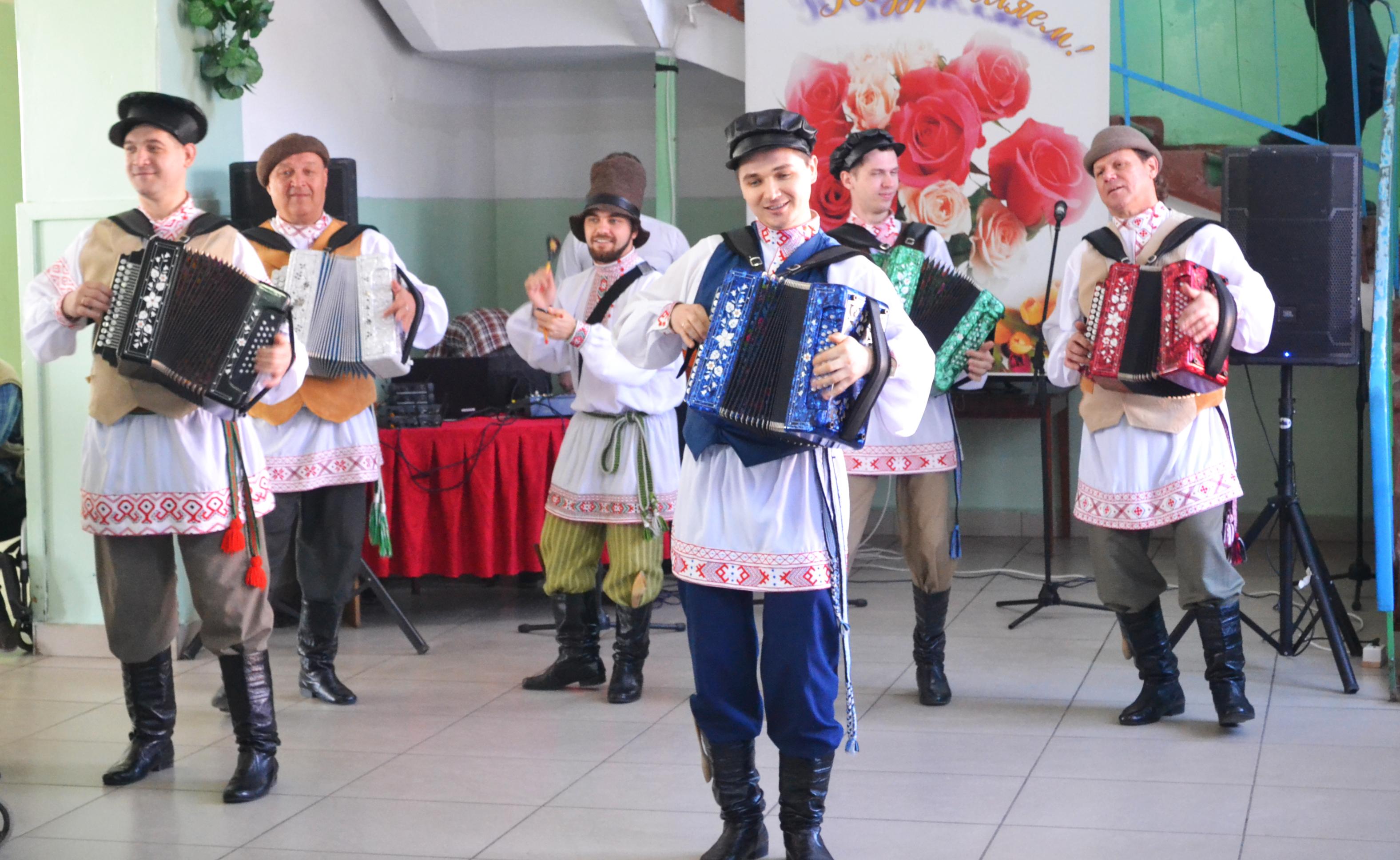 Благотворительный концерт в Волго-Каспийском доме-интернате