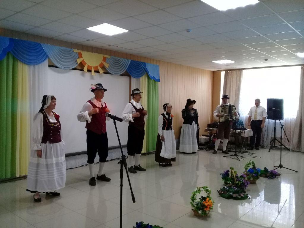 Благотворительный концерт состоялся в санатории «Астраханские зори»