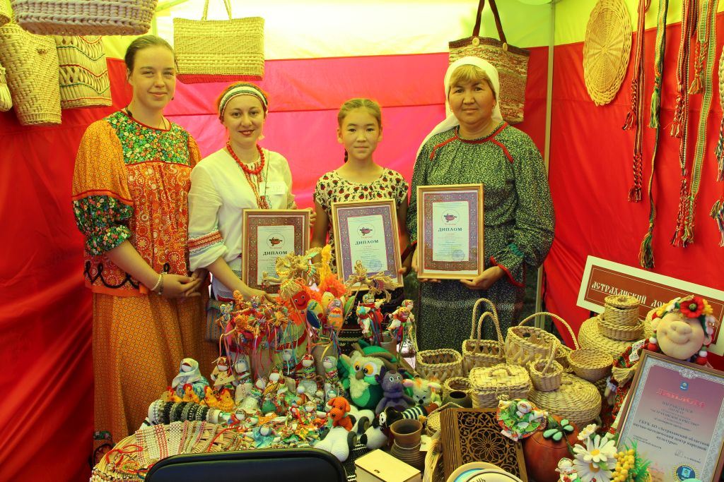 Астраханские мастера стали победителями Всероссийского конкурса  «Русь мастеровая»