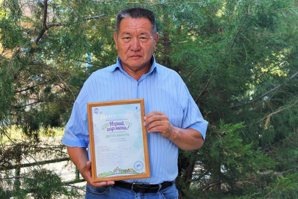 Астраханец – дипломант Всероссийского фестиваля  «Играй, гармонь!»