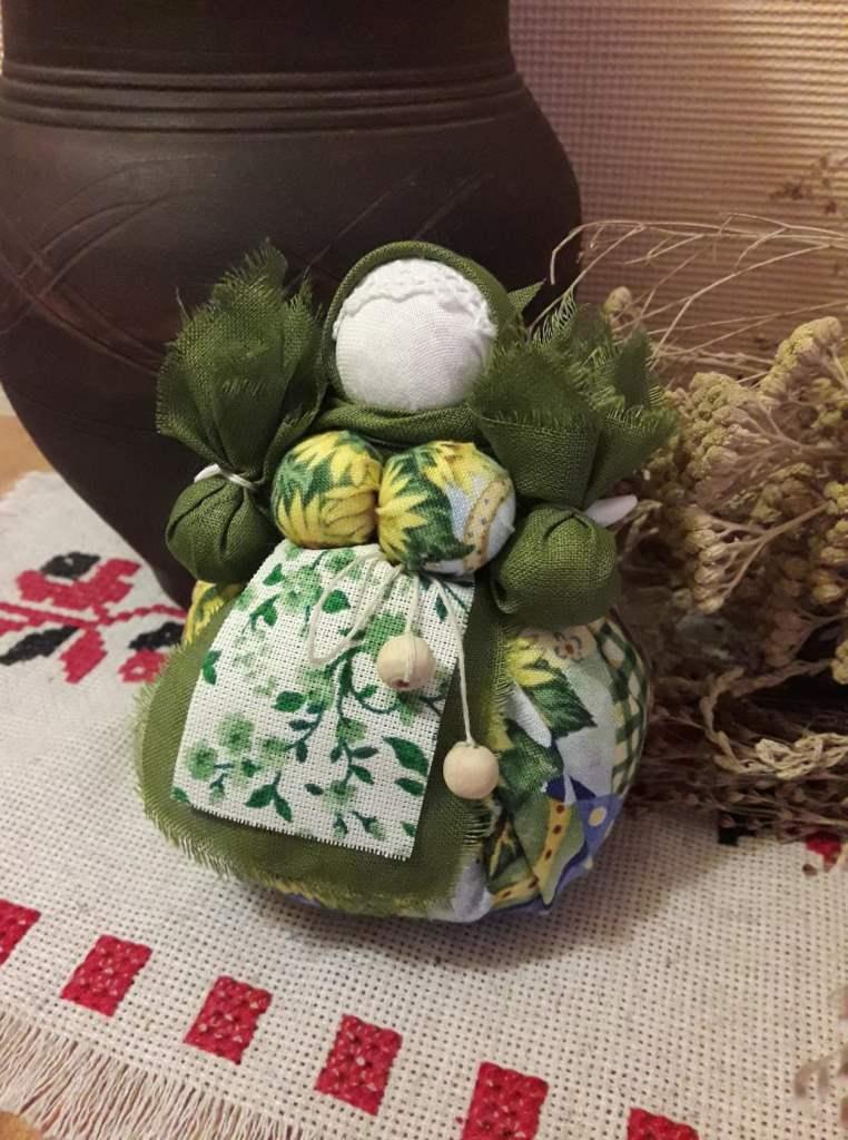 Приглашаем на мастер-класс по кукле «Кубышка-Травница»