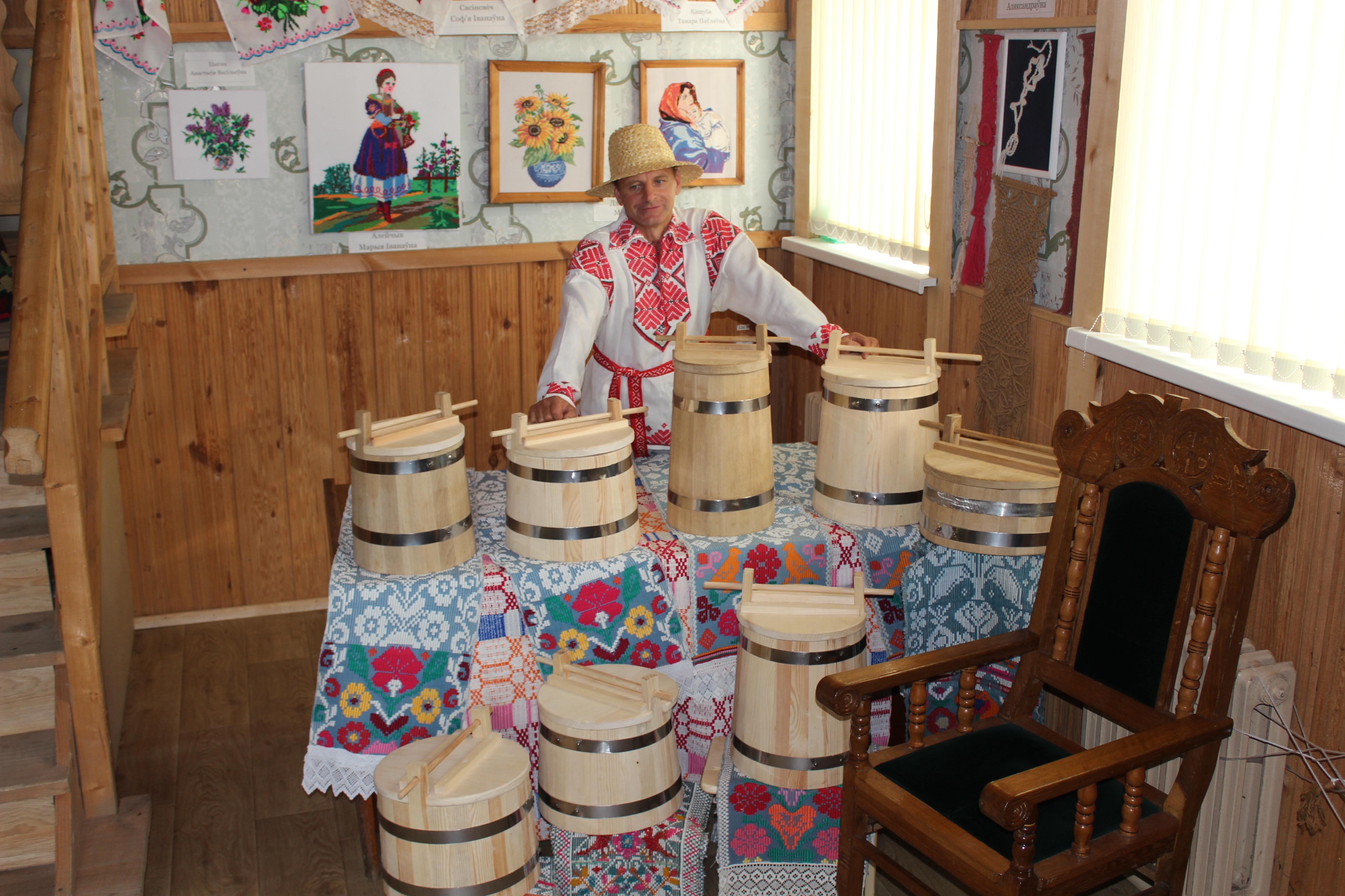 Мастер из Белоруссии проведет мастер-класс по бондарному ремеслу