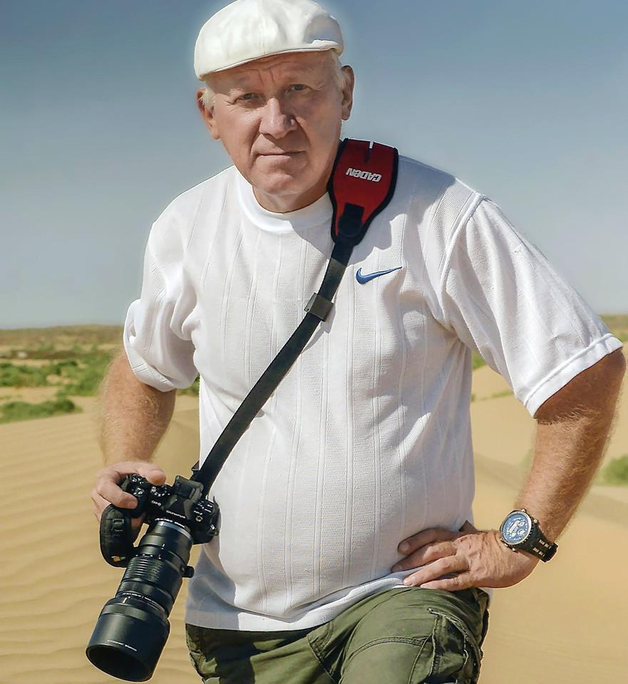 В Астрахани открывается персональная фотовыставка Александра Максяшина