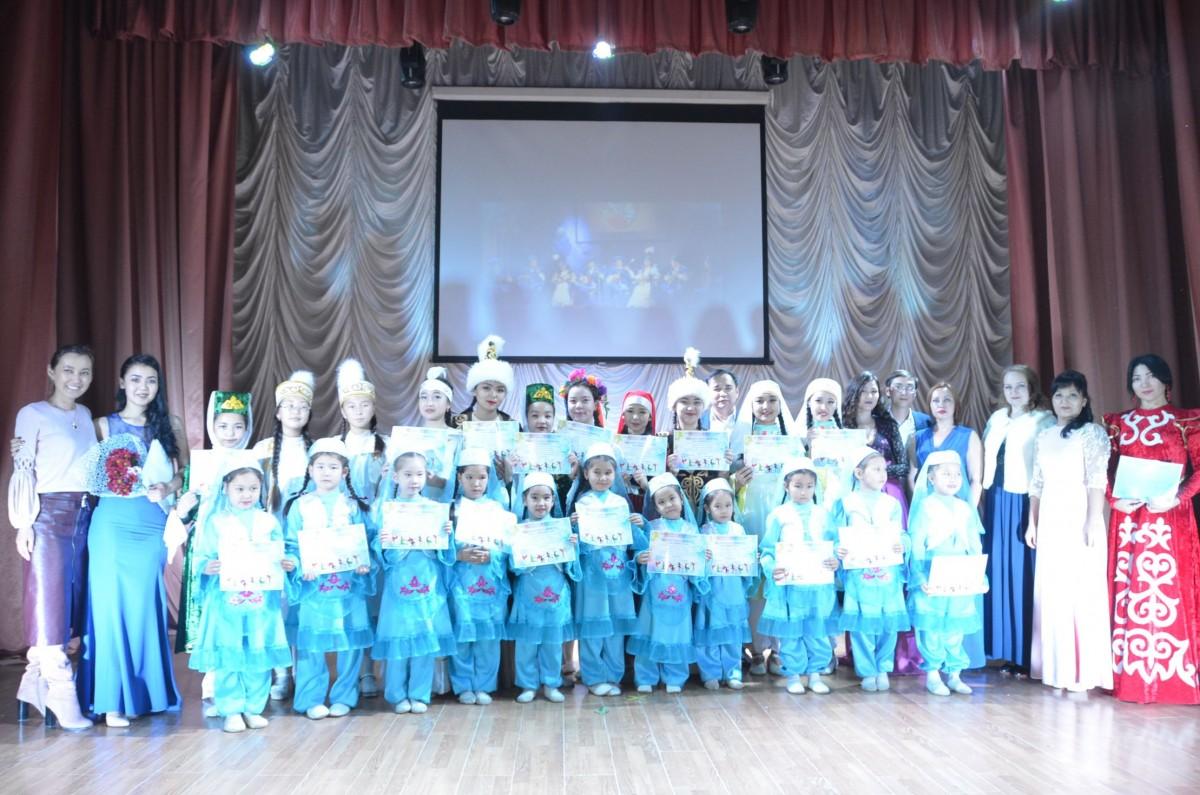 Ансамбль домбристов «Атамекен» и  хореографический ансамбль «Жулдыздар» отметили юбилей