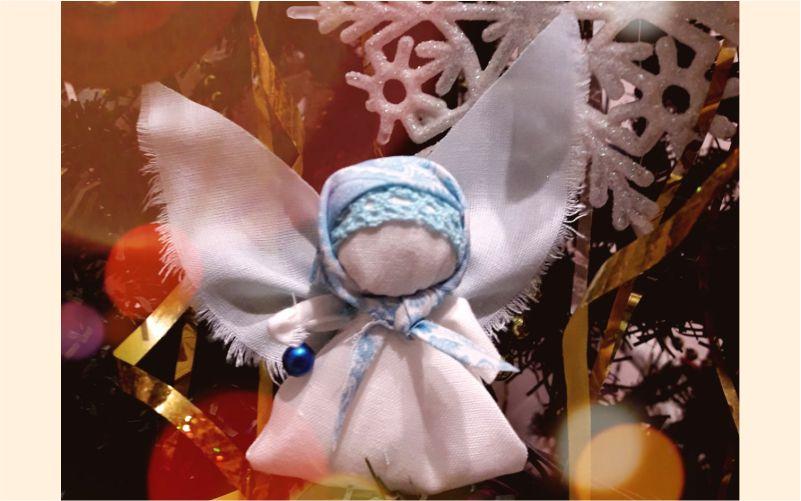Приглашаем на мастер-класс «Рождественский ангел»