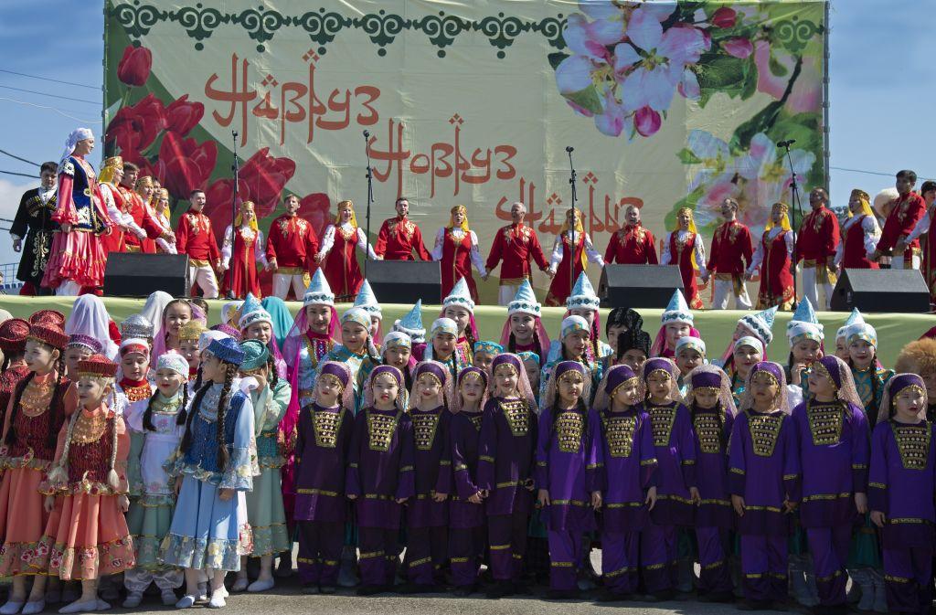 В Астрахани отметили праздник Навруз