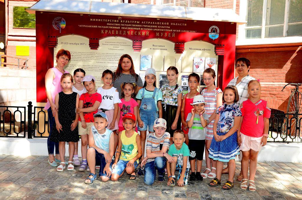В Астрахани работает Летняя школа маленьких мастеров