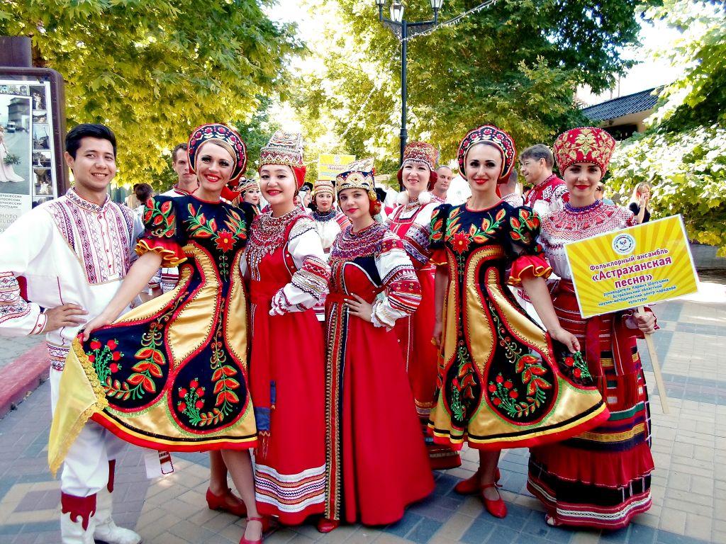 Астраханцы на всероссийском интернациональном фестивале «Дружба народов»