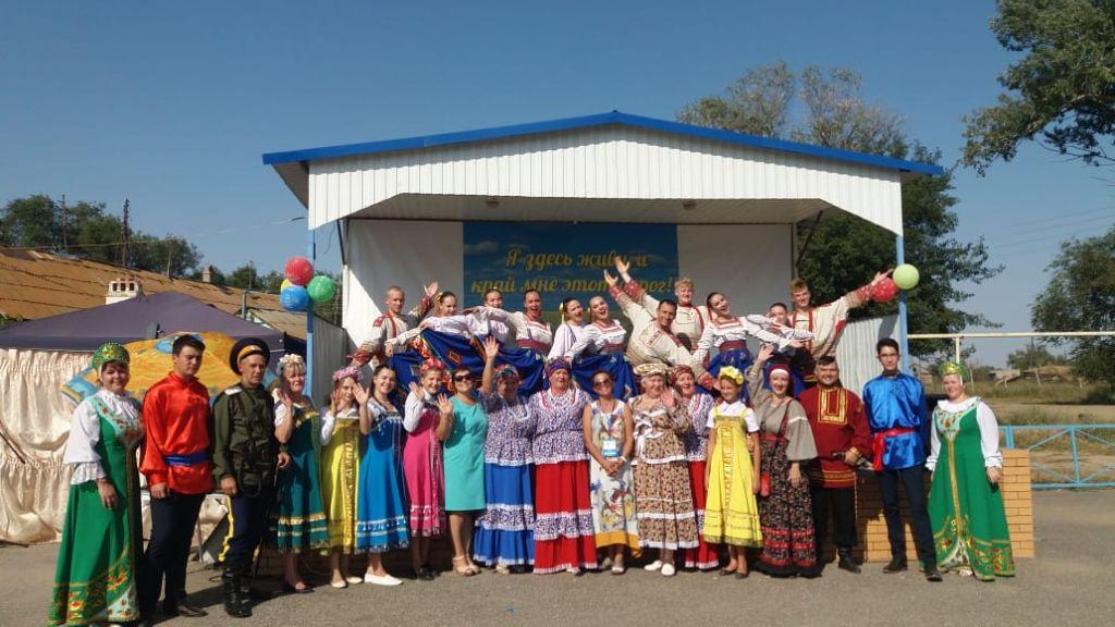 В Красноярском районе прошла творческая встреча