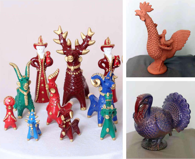 Мастер из Пензы проведет для астраханцев мастер-класс по традиционной глиняной Абашевской игрушке