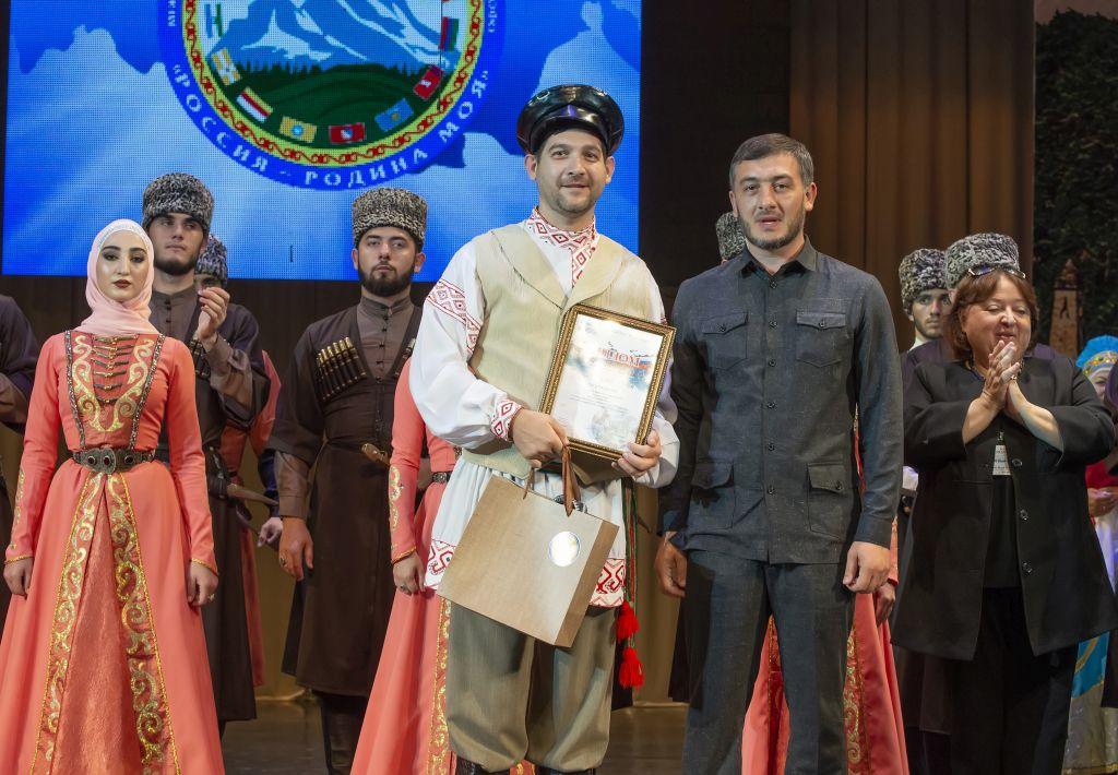 Астраханцы приняли участие в межрегиональном фестивале «Россия-Родина моя»