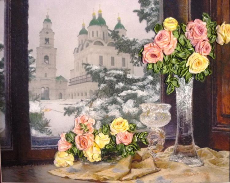 В Астрахани пройдут мастер-классы по вышивке лентами и творческой технике «крейзи — квилт»
