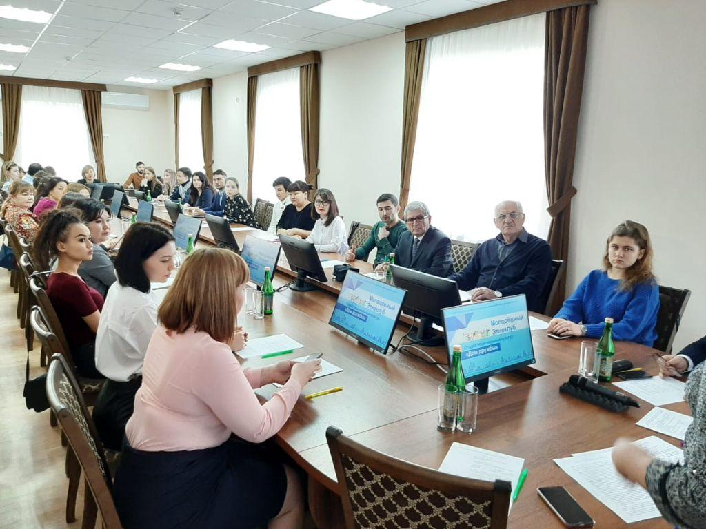 В Астрахани презентовали молодежный этноклуб
