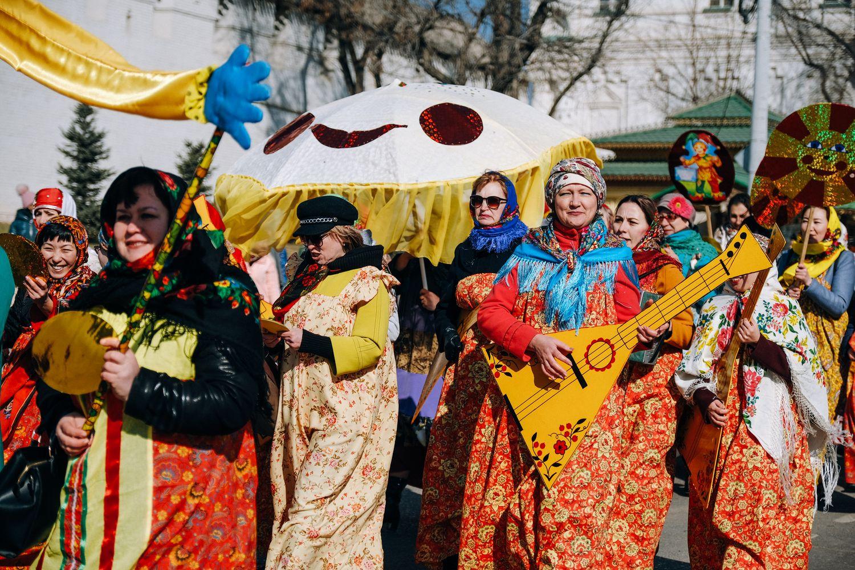 Приглашаем астраханцев стать участниками масленичного театрализованного парада