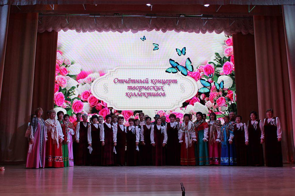 В п. Лиман продолжаются отчетные концерты творческих коллективов
