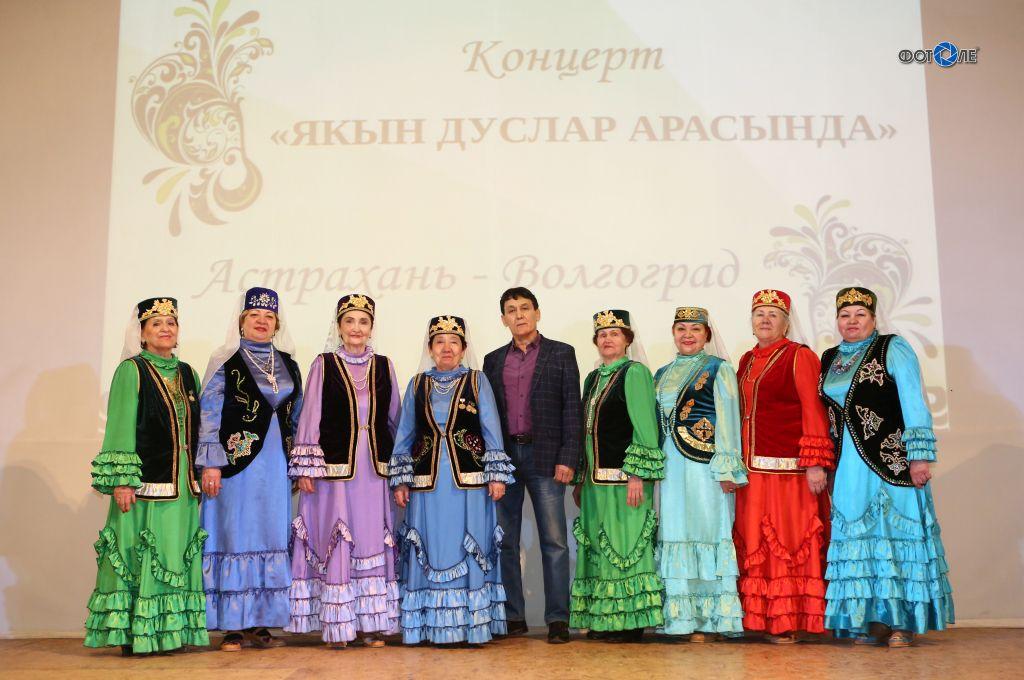 В Волгограде прошел концерт астраханских артистов