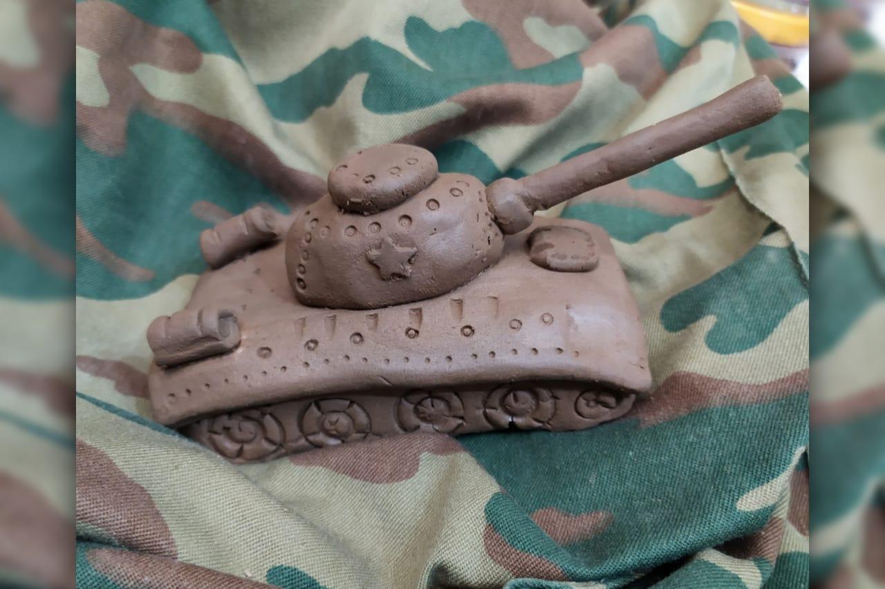 Видеозапись мастер-класса «Танк Т-34»