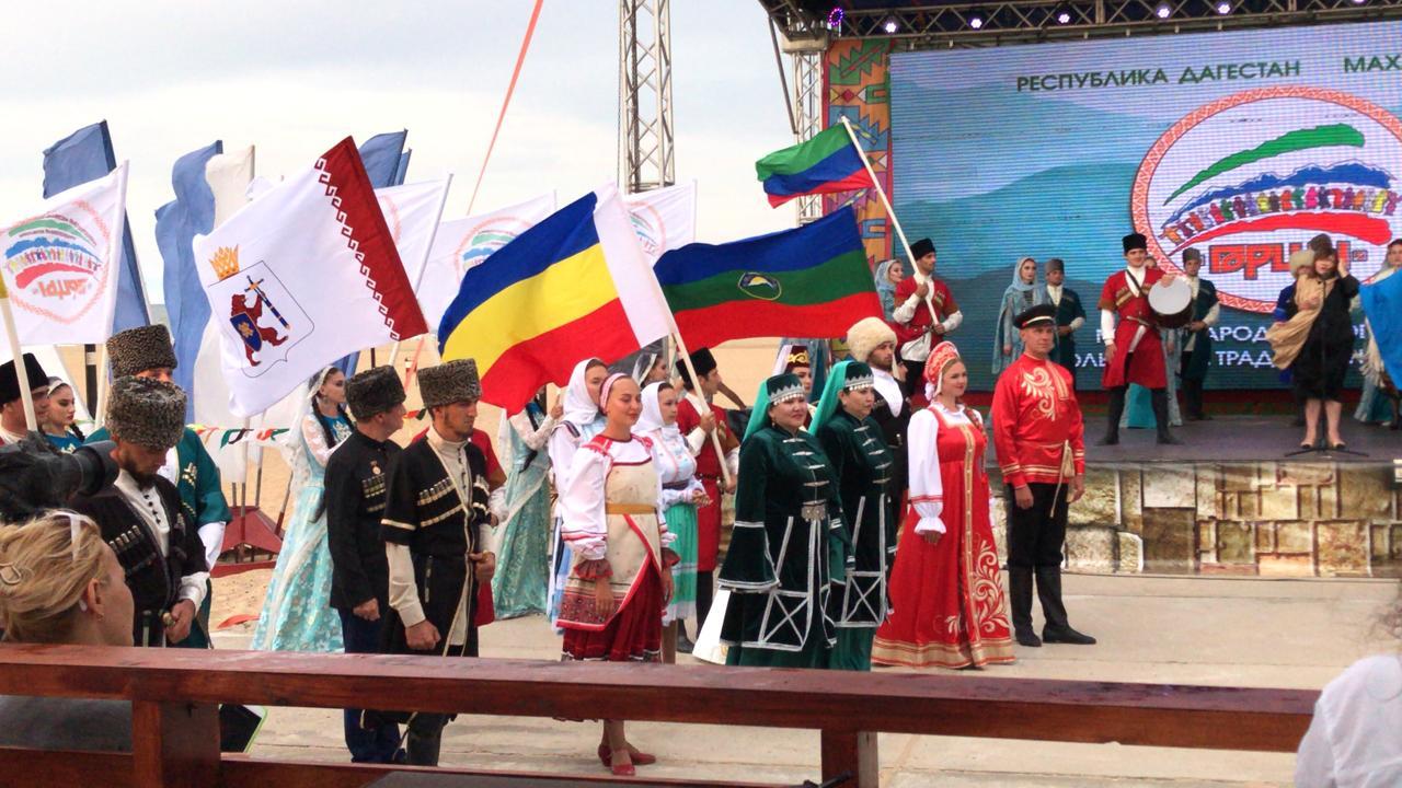 Астраханцы приняли участие в международном фестивале фольклора «Горцы»