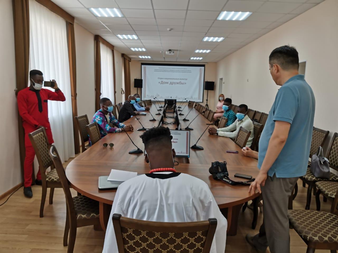 В Доме дружбы прошёл Круглый стол для иностранных студентов