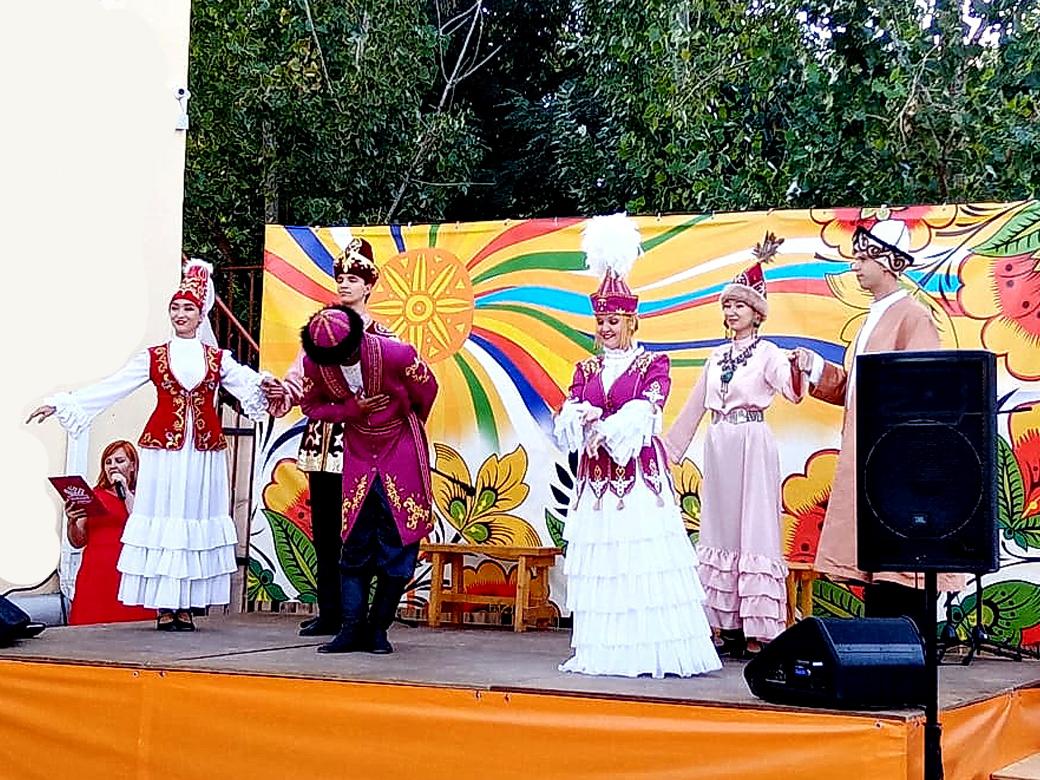 Этновечер, посвященный казахской культуре