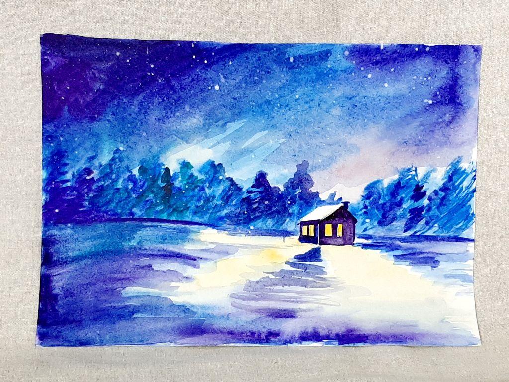 Мастер-класс «Зимняя деревня»