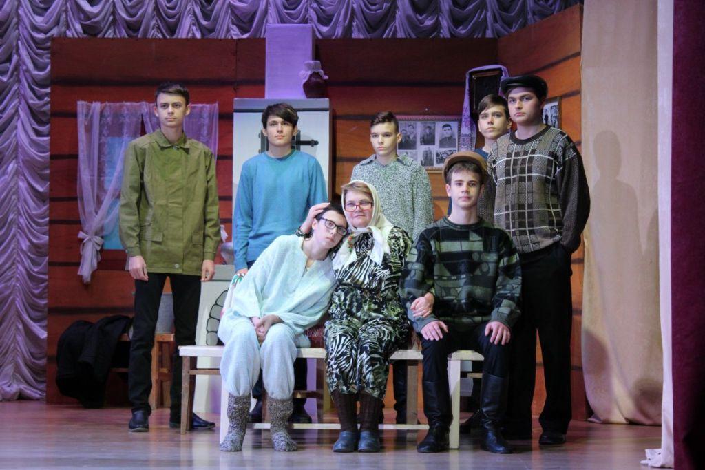 Народный театр «Другие люди» отметил 35-летие премьерой