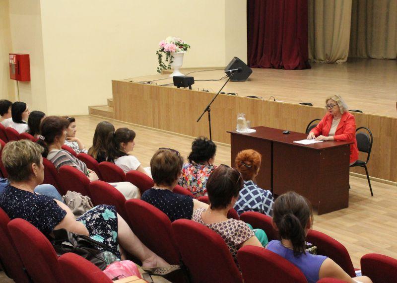 Встреча специалистов областного Центра народной культуры с работниками культуры п. Лиман