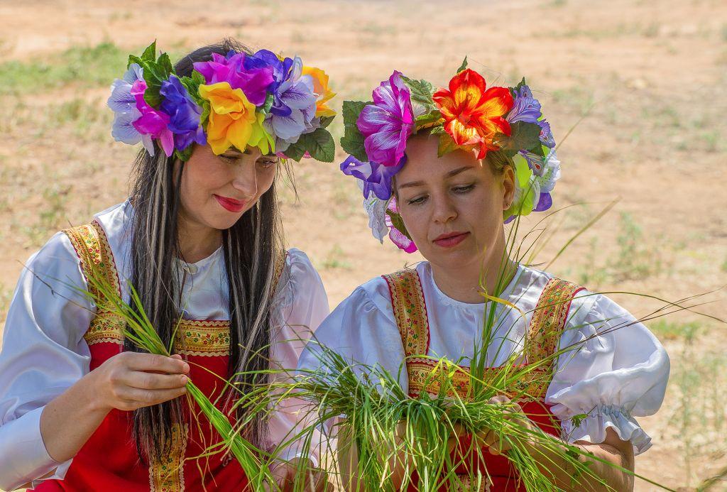 Центр народной культуры принял участие в празднике «Зелёные святки»