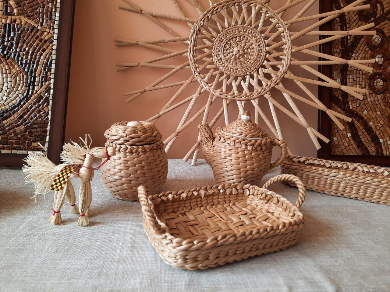 В Доме ремесел работает выставка «Красота природы руками мастеров»
