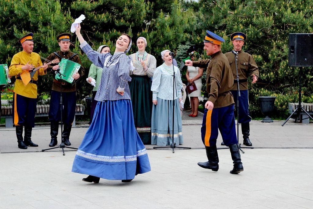 Русские вечерки пройдут в воскресенье