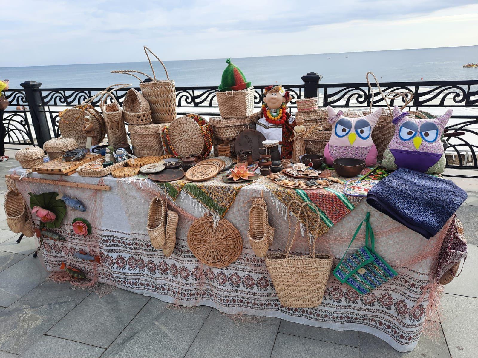 Дом ремесел представил свои работы в Крыму