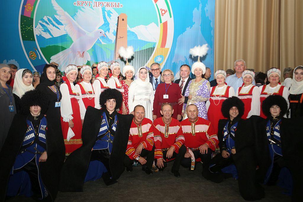 Астраханцы приняли участие в межрегиональном фестивале «Круг дружбы»