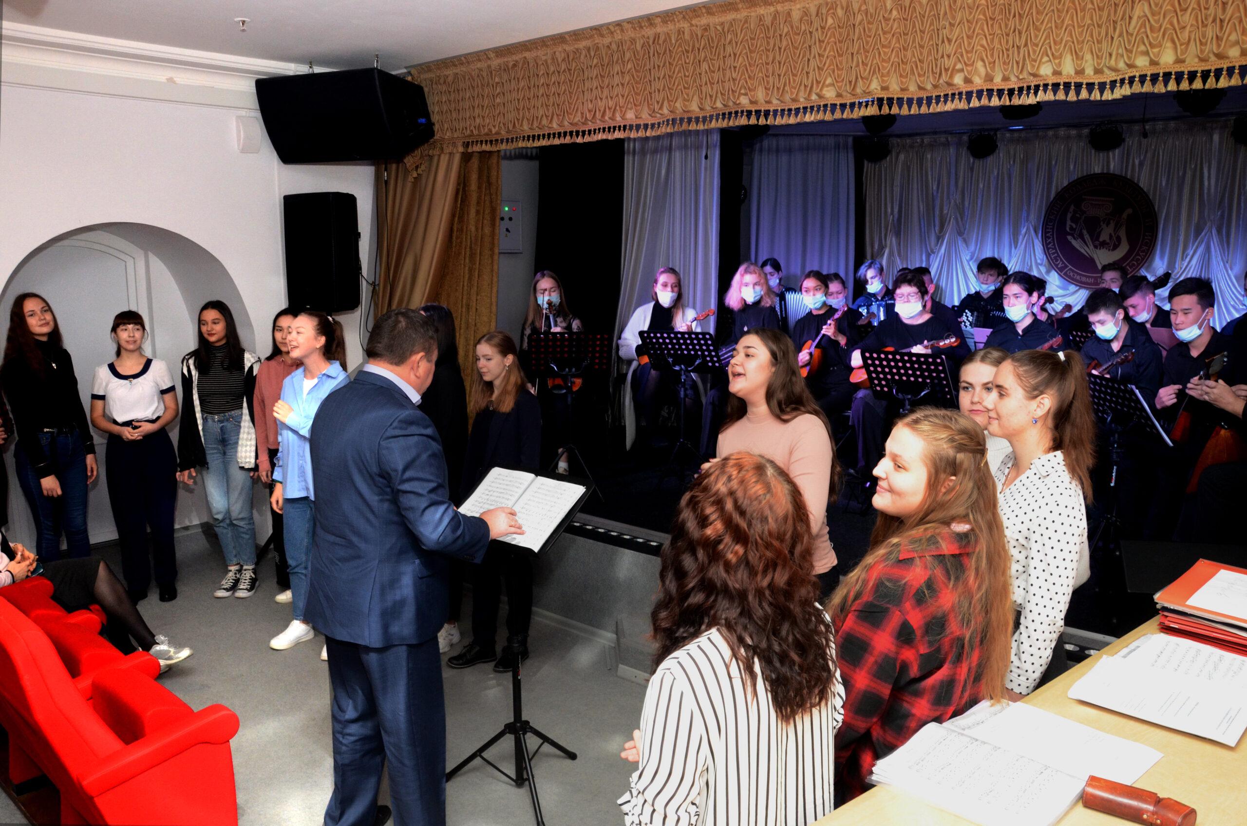 В Астрахани прошел мастер-класс по инструментальному творчеству