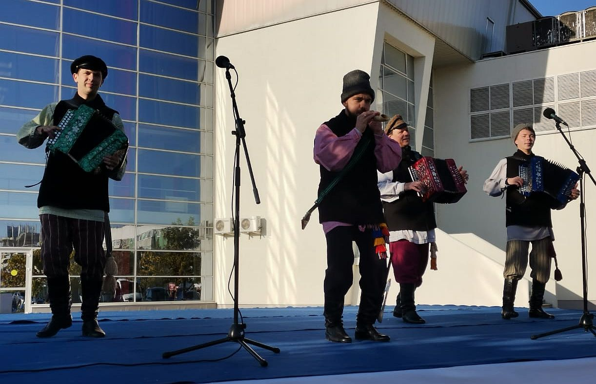 Центр народной культуры принял участие в Агрофестивале