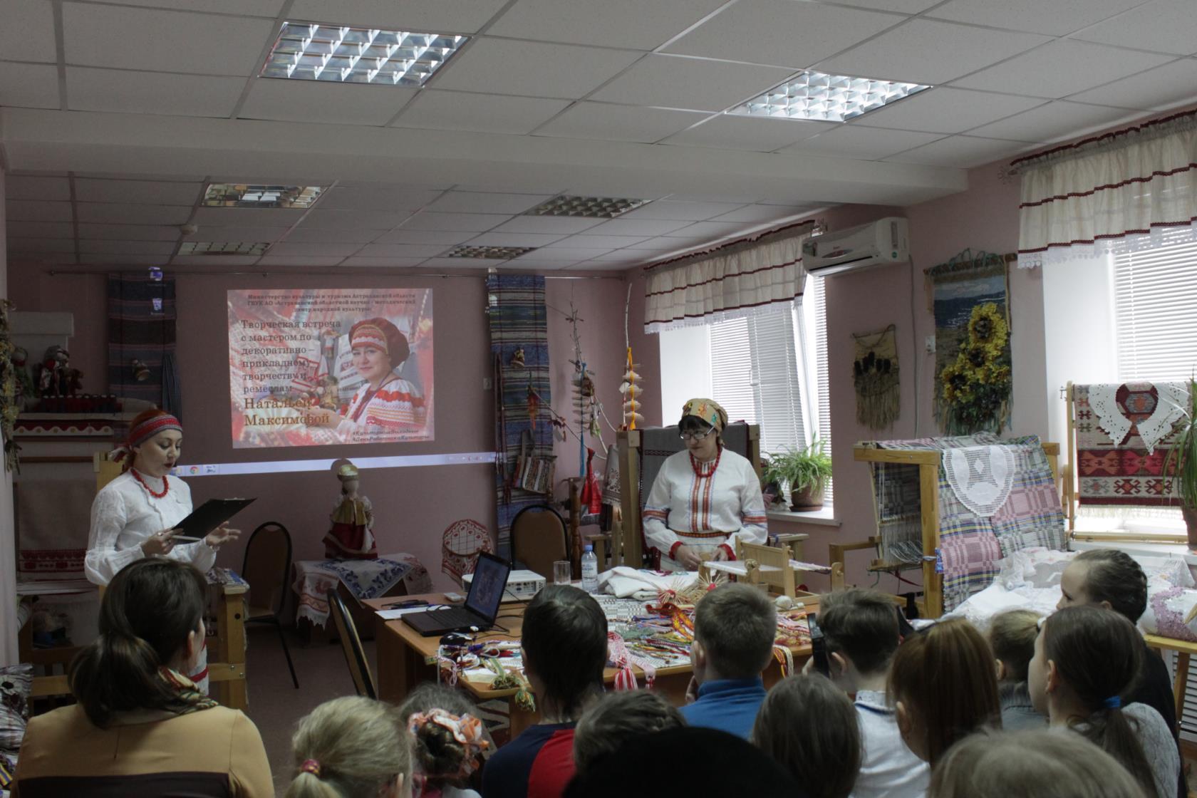 В Доме ремесел состоялась творческая встреча с мастером по декоративно — прикладному творчеству Натальей Максимовой