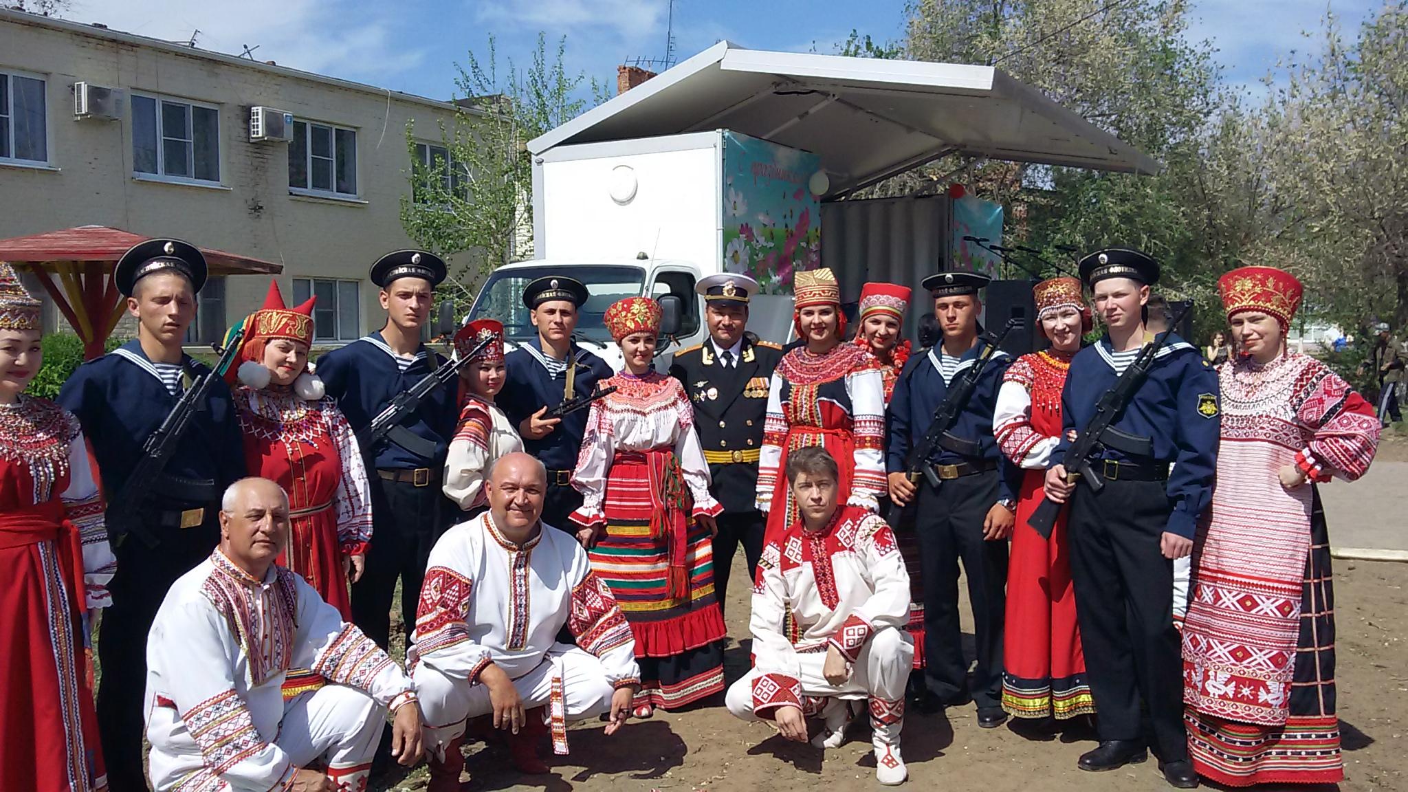 «Мастера искусств — жителям села» в Камызякском районе