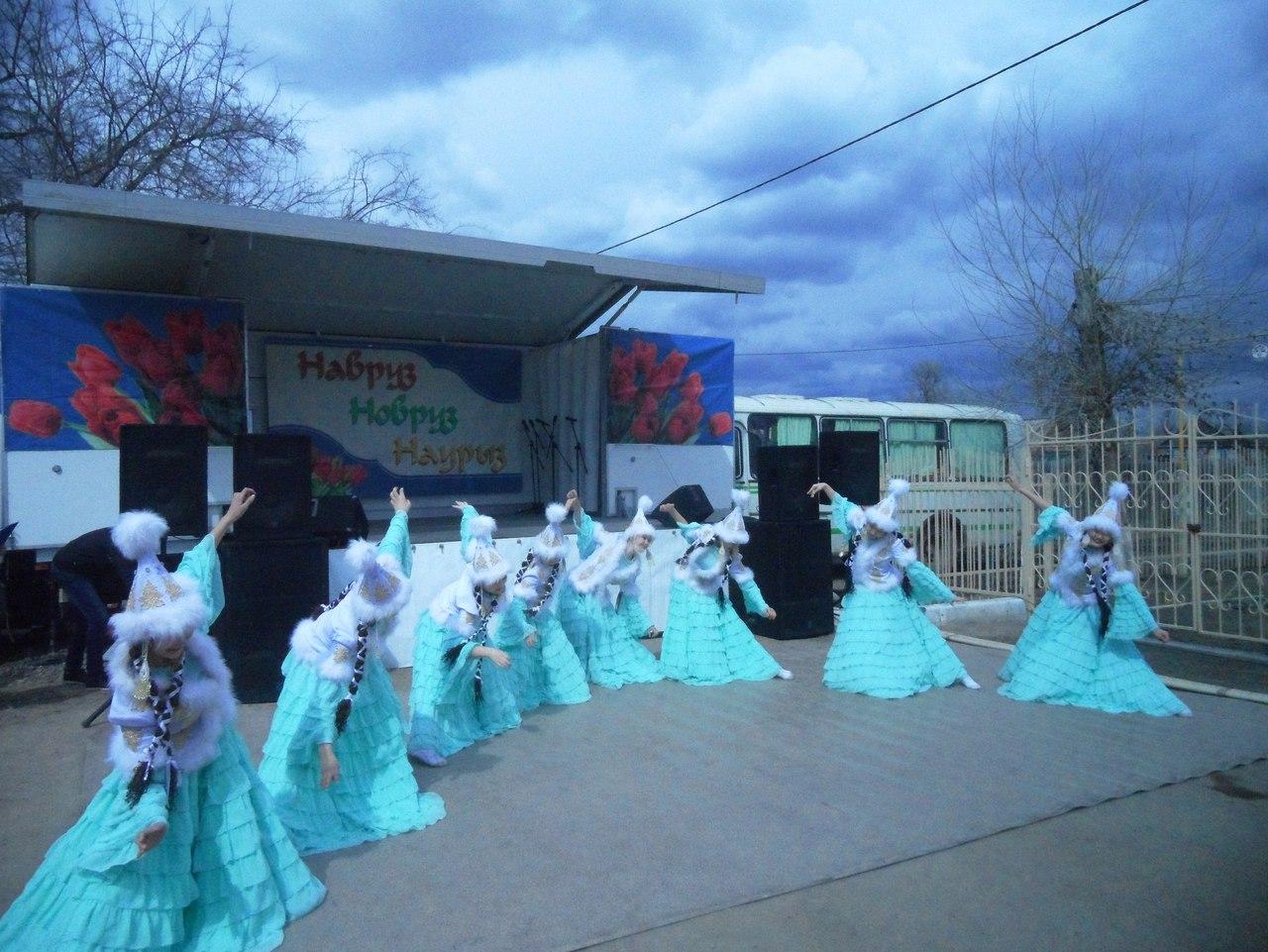 В селах Астраханской области прошел праздник Наурыз