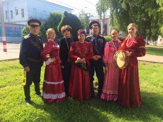 Ансамбль «Берегиня» — участник межрегионального казачьего фестиваля