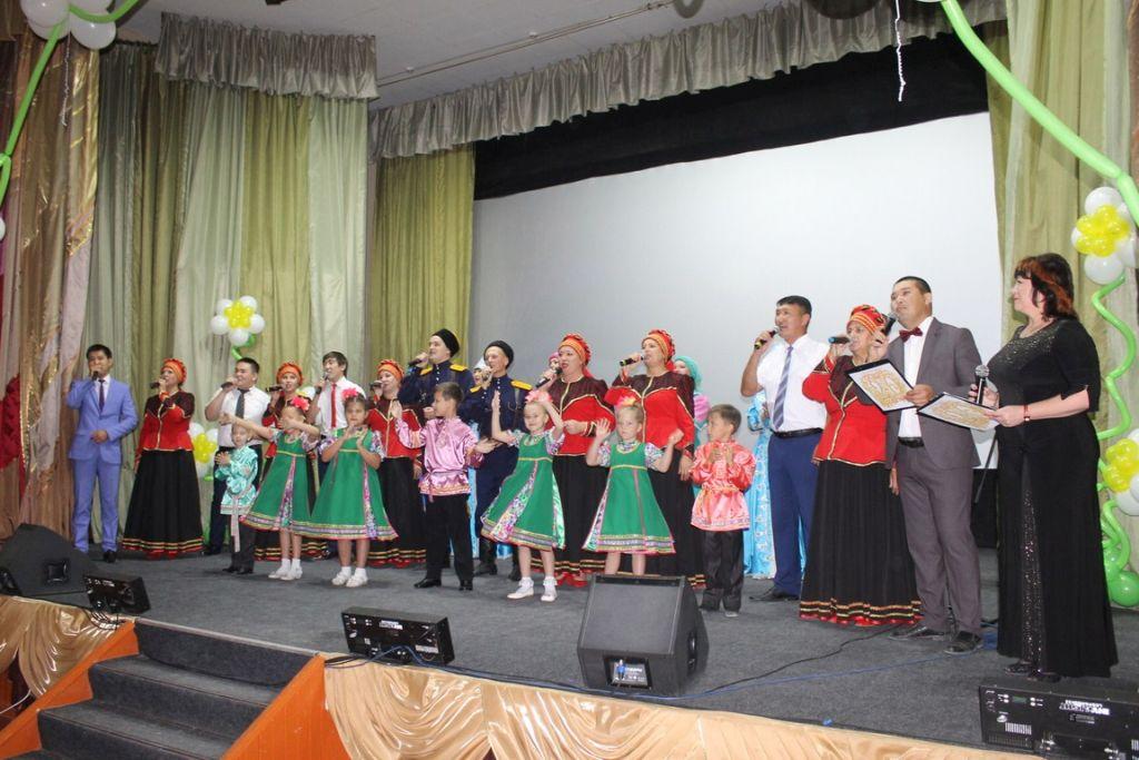 Народный ансамбль «Россияне» отметил юбилей