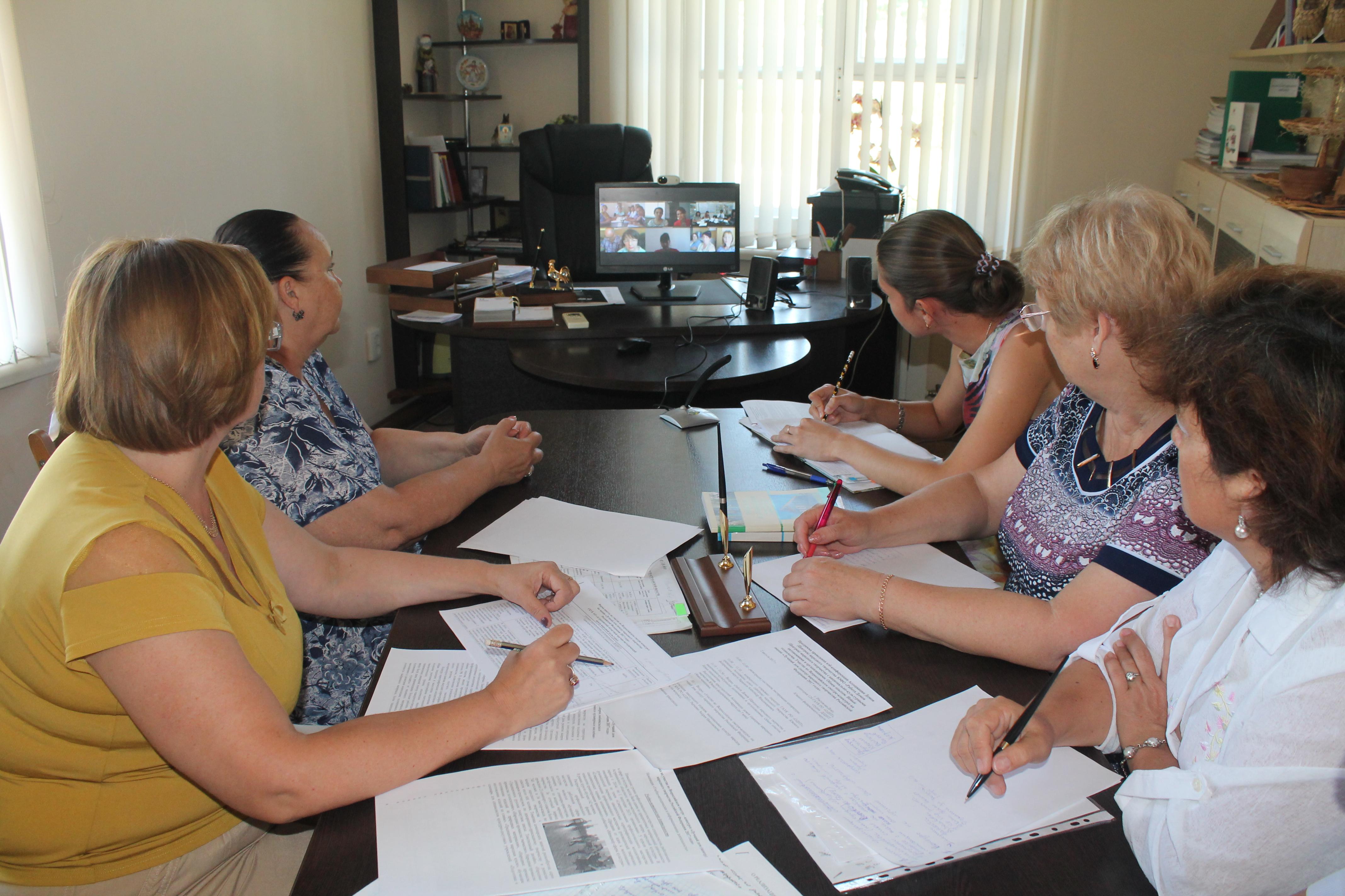 2 августа Астраханский областной научно-методический центр принял участие в веб-конференции Ассоциации Домов (Центров) народного творчества